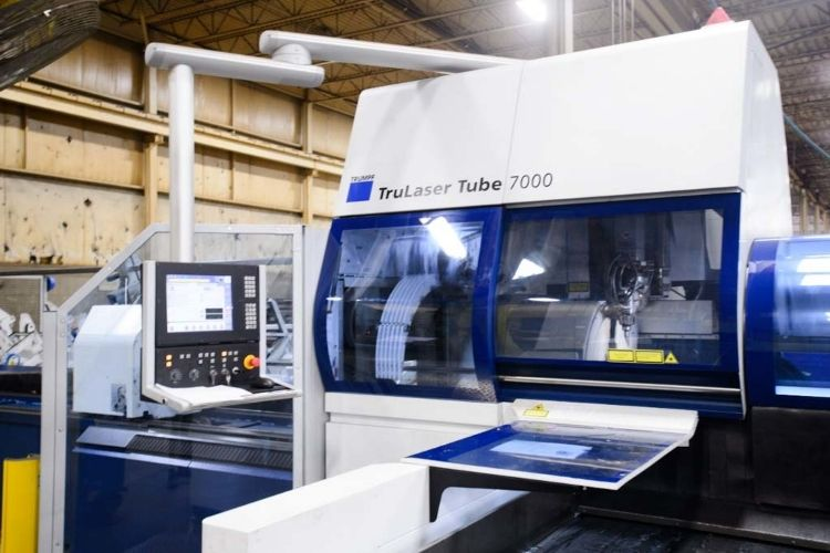 tube and flat laser